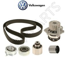For VW Passat TDI 12-14 2.0L Engine Timing Belt Tensioner Roller Water Pump Kit
