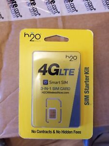 H2O Smart SIM Starter Kit.