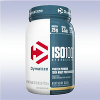 DYMATIZE NUTRITION ISO 100 (1.6 LB) hydrolyzed whey protein isolate 2 iso100 %