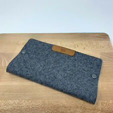 Hard Graft folding mouse mat wool felt leather