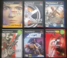 6 x PLAYSTATION  2 GAMES (LOT 1)