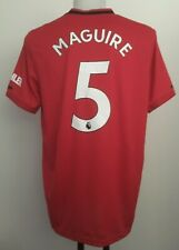 MANCHESTER UNITED 2019-20 S/S HOME SHIRT MAGUIRE 5 BY ADIDAS MEN'S XL BRAND NEW