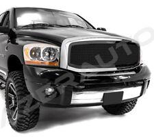 06-08 Dodge Ram 1500+06-09 RAM 2500+3500 Black Packaged Mesh Grille+Chrome Shell