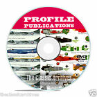 Profile Publications Aircraft Series -262 Volume Aircraft History WW1 CD DVD B52