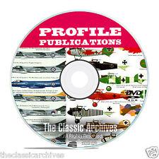 Profile Publications Aircraft Series -262 Volume Aircraft History WW1 CD DVD B52