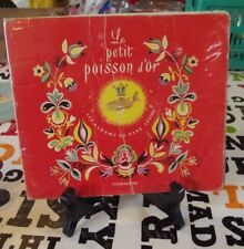 the little gold fish albums of Father Castor 1956 le petit poisson d'or les albu