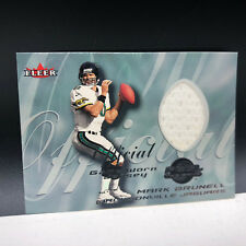 GAME USED JERSEY FOOTBALL CARD 2000 FLEER Mark Brunell Jaguars patch feel game