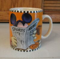 Disney Mickey Mouse Oversized Coffee Mug XL Go Ahead, I'm All Ears. 24oz