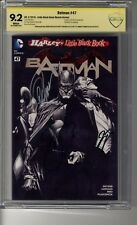 Batman (2011) # 47 Ross Sketch Var - CGC 9.2 WHITE Pages - SS3X Capullo, Snyder
