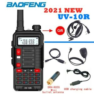 BAOFENG UV-10R HAM Transceiver 2021 Newest Wireless Communication Interphone