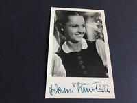 """JOHANNA """"HANSI"""" KNOTECK †2014 signed Postkarte 9x14 Autogramm"""
