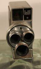 Dejur Electra 8 MM camera with Three Lens/ 1958