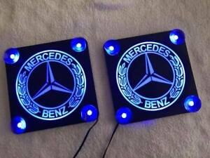 MERCEDES BENZ 2x CORNER LED BOX TRUCK 12/24V TRUCK ACCESORIES WINDSHIELD