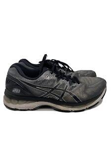 Asics Gel Nimbus 20 Mens Running Shoes Sneakers Gray Black Size 9