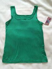 Green vest style T-shirt. Size - see description. BNWT