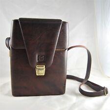 Kodak Camera Bag Faux Padded Leather w/ Strap Carry Case Vintage 1980s 110