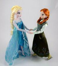 Disney Magasin Original Anna & Elsa Glace Patinage Frozen de Luxe Poupées,Cadeau