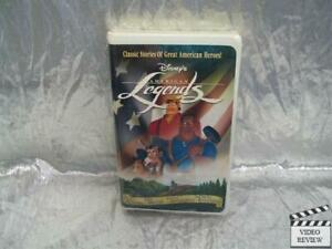American Legends VHS Disney Animated NEW
