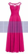 New Long Bridesmaid Dresses Formal Party Evening Cocktail Prom Ball Gown Dresses