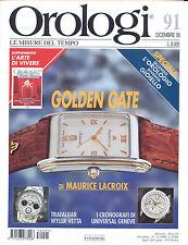 OROLOGI LE MISURE DEL TEMPO N. 90 NOVEMBRE 1995
