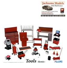 Fujimi 114392 Tools Set Remix for Garage Dioramas 1:24 Scale Kit