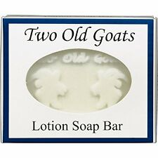 Two Old Goats Lotion Soap Bar goat milk soap 6 essential oil lavender peppermint
