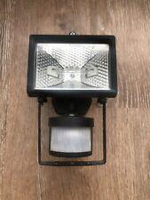 150W Halogen Light With PIR Sensor, Security Floodlight/Garden light, used