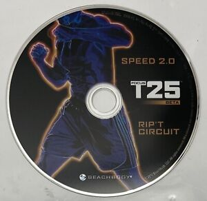 Focus T25 Beta Workout Replacement DVD Rip'T Circuit EUC Beach Body