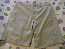 "CALLAWAY Men's Golf / Casual Shorts size 38-39 Beige + Stripes 10"" Inseam EUC+"