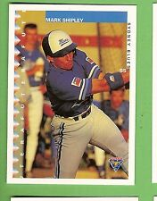 1995 AUSTRALIAN BASEBALL CARD #6  MARK  SHIPLEY, SYDNEY BLUES