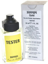 FERRARI GOLD / YELLOW Ferrari 1.0oz EDT SPRAY RARE Eau De Toilette Cologne  (A10