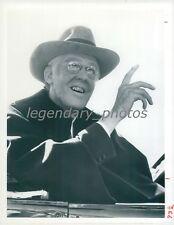 1977 Edward Herrmann as Franklin Roosevelt Original News Service Photo