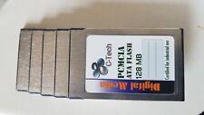 Five 128MB ATA Flash PC Card (PCMCIA)