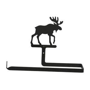 Moose Paper Towel Holder Rack Wall Mount Cabin Lodge Home Decor