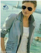 PUBLICITE ADVERTISING 105  2006  SAINT JAMES   veste pret à porter femme