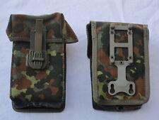 BW PORTA CARICATORI G3, FLECKTARN, Bundeswehr, 2 pezzi