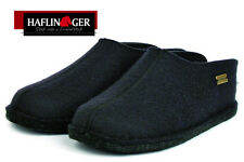Haflinger Smily 311013 Unisex - erwachsene Pantoffel schwarz (schwarz 3) EU 44