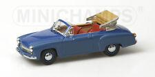 Wartburg 311/2 Cabriolet 1959 Blue 430015932 1/43 Minichamps