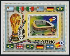 Lesotho 364 MNH World Cup Football, Stadium, Flags