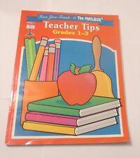 TEACHER TIPS GRADE 1, 2, 3, (1ST, FIRST, 2ND, SECOND, 3RD, THIRD)  BRAND NEW!!