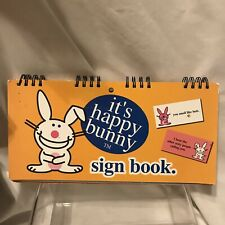 It's Happy Bunny Sign Book funny novelty  15 signs for wall or desk Jim Benton