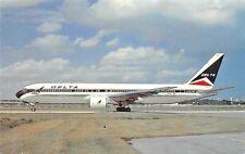 DELTA Boeing 767-322 Passengers 24 in First Class 230 Coach  Airplane Postcard