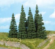 * Heki scala N 2151 set 9 alberi abeti pini tree tannen altezza 5-7 cm.