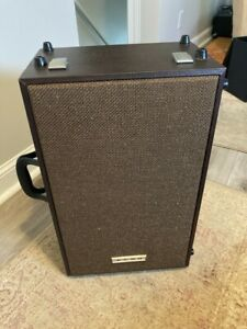 elmo gs-1200 st-1200 stereo super 8 projector speakers mint rare no reserve