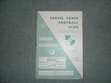 YEOVIL YOWN  V  EXETER CITY  (WCFL)  15-12-65