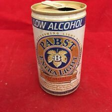 Pabst Extra Light- Empty Beer Can, pop tab, 12 oz