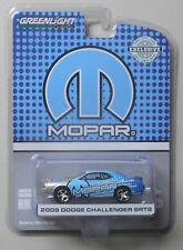 2009 Dodge Challenger MOPAR Edition HOBBY GREENLIGHT DIECAST 1/64