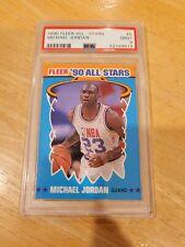 Michael Jordan 1990-91 Fleer All-Stars #5 PSA 9 MINT 🔥 🔥 🔥 🐐 🔥 🔥 🔥