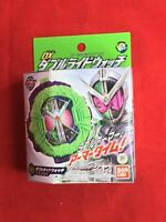 Masked Kamen Rider Zi-O DX Double Ride Watch BANDAI Japan import