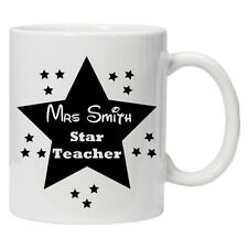Personalised Teacher mug/cup Perfect thank you gift tea coffee